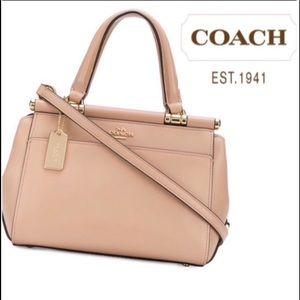 NWT COACH Leather Authentic Satchel